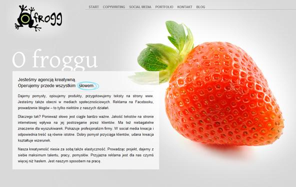 agencja reklamy frogg