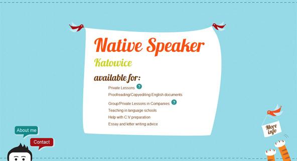 native speaker katowice