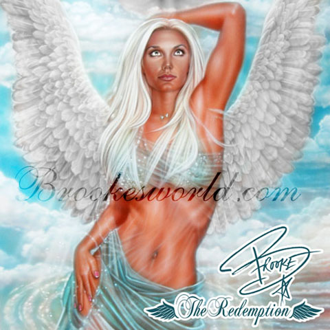 Brooke Hogan - The Redemption album cover
