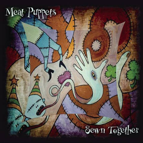Sewn Together - Meat Puppets album covers