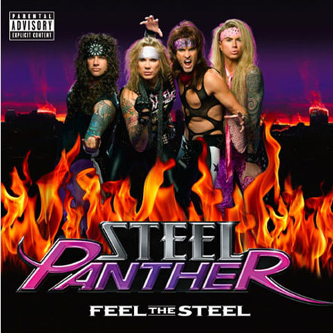 Steel Panther - Feel The Steel album cover