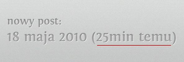 relatywne daty wordpress