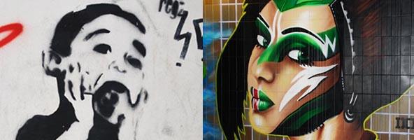 graffiti Czechy