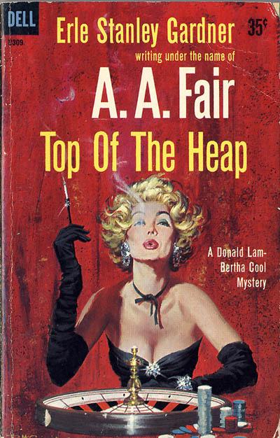 Pin-up na okładce książki
